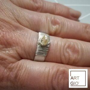 anello con perla 2