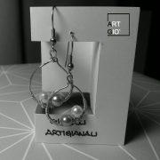 dondolo - perle - orecchini 1