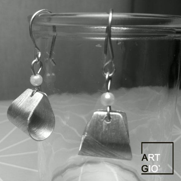 orecchini - borsetta - alluminio 1