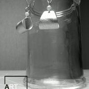 orecchini - borsetta - alluminio  2
