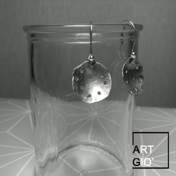 scolapasta - orecchini - alluminio 2